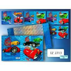 TZ 2714 Обложка голографическая для дневников и тетрадей 350*216мм TUKZAR