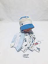 Летняя панамка для мальчика р.44,46,48