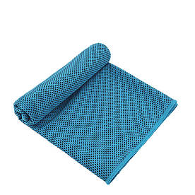 Охлаждающее полотенце Cool Towel голубое в бутылке