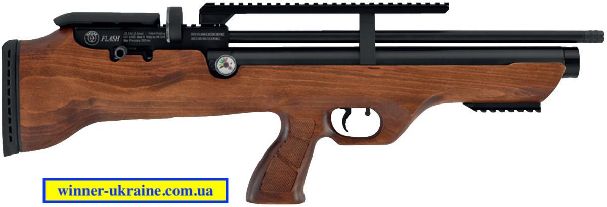 Пневматична гвинтівка Hatsan FlashPuP + насос Hatsan