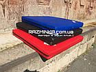 Мат гимнастический для детей 100х100х10см, красный, фото 5
