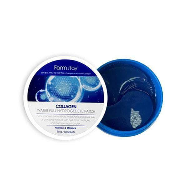 Гидрогелевые патчи для кожи вокруг глаз с коллагеном FarmStay Collagen Water Full Hydrogel Eye Patch
