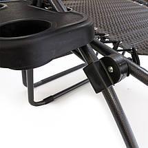 Шезлонг садовое кресло XXL (120 кг.), фото 2