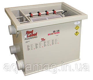 AquaKing Red Label Drum Filter 20/25 Барабанный фильтр для пруда, водоема, озера, пруда, кои