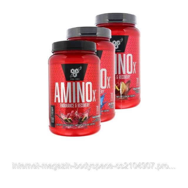 BSN Nutrition, Бцаа Amino-X, 1000 грамм