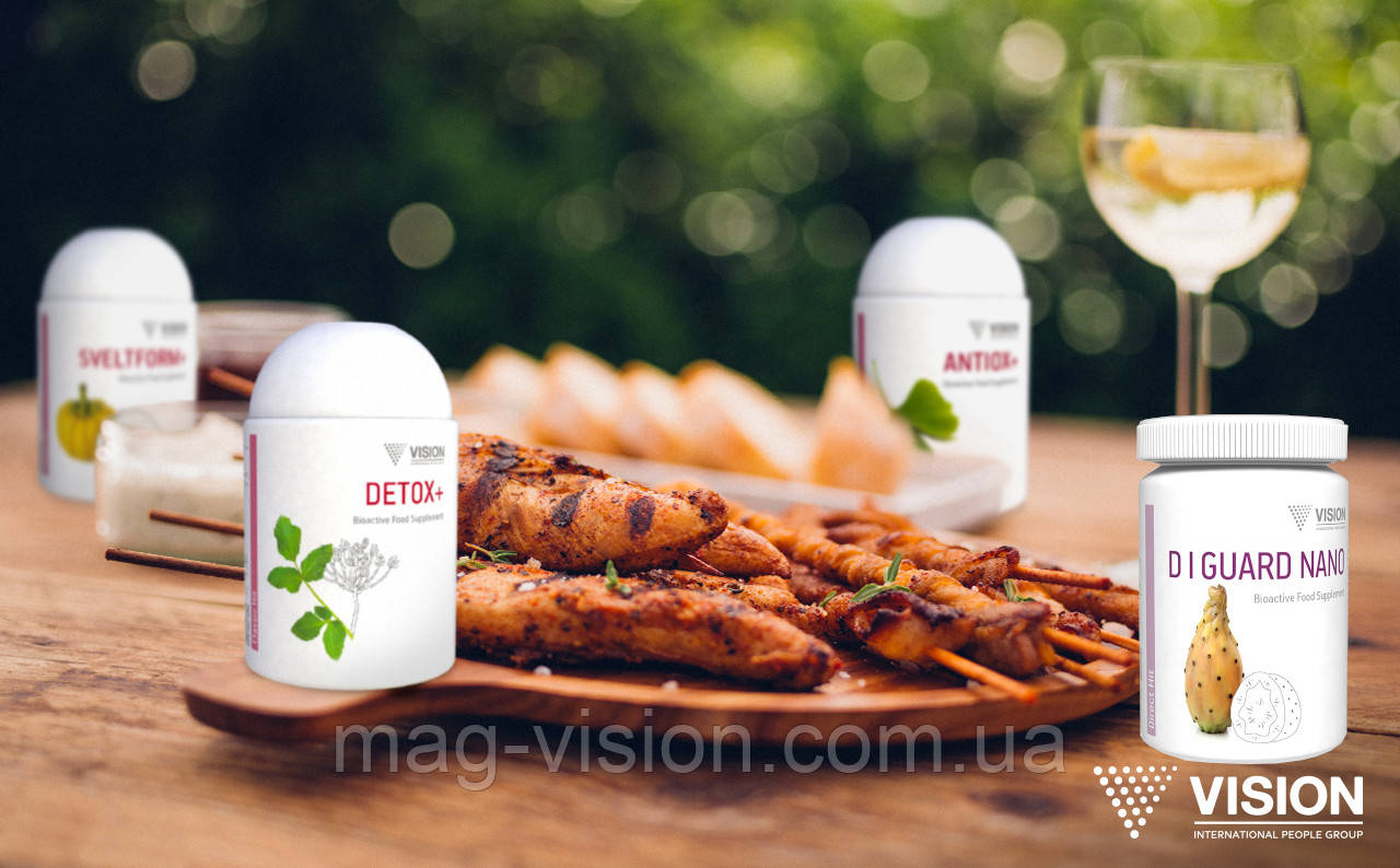 Поддержка пищеварения и печени от VISION