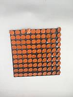 Пайетки с эффектом пудры для выставочного оборудования Shining Orange оборудование для выставок