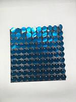 Пайетки с эффектом пудры для выставочного оборудования Light Blue оборудование для выставок