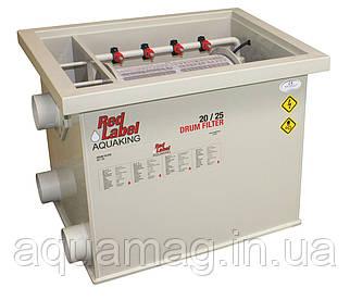 AquaKing Red Label Drum Filter 30/35 Барабанный фильтр для пруда, водоема, озера, пруда, кои