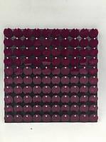 Пайетки с эффектом пудры для выставочного оборудования Acylic Purple  оборудование для выставок