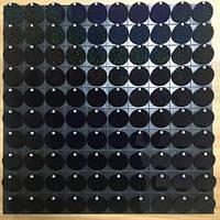 Пайетки с эффектом пудры для выставочного оборудования Shining Black   оборудование для выставок
