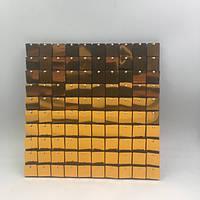 Квадратные Пайетки для рекламы Cooper square  Пайетки для вывесок  Пайетки для выставочного оборудования