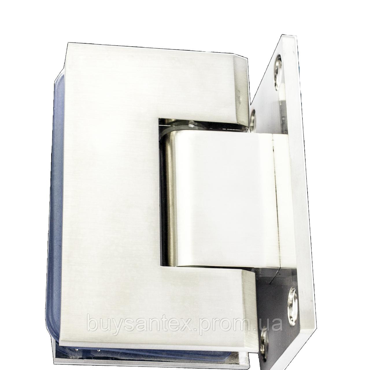 Петля для стекла 90° (стена-стекло) 101 сатин