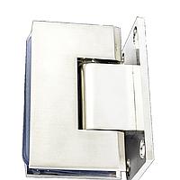 Петля для стекла 90° (стена-стекло) 101 хром