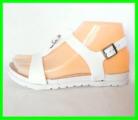 Жіночі Сандалі Босоніжки FASHION Літнє Взуття White ( 40 розмір )