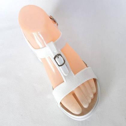 Женские Сандалии Босоножки FASHION Летняя Обувь White ( 40 размер ), фото 3