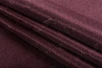 Ткань блэкаут  лен  темный  марсала, фото 1