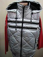 Жилетка для мальчика 10-11 лет 146 (Турция) 146 Серый