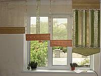 Японские панельки Версачи салатовые
