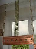 Японские панельки Версачи салатовые, фото 3