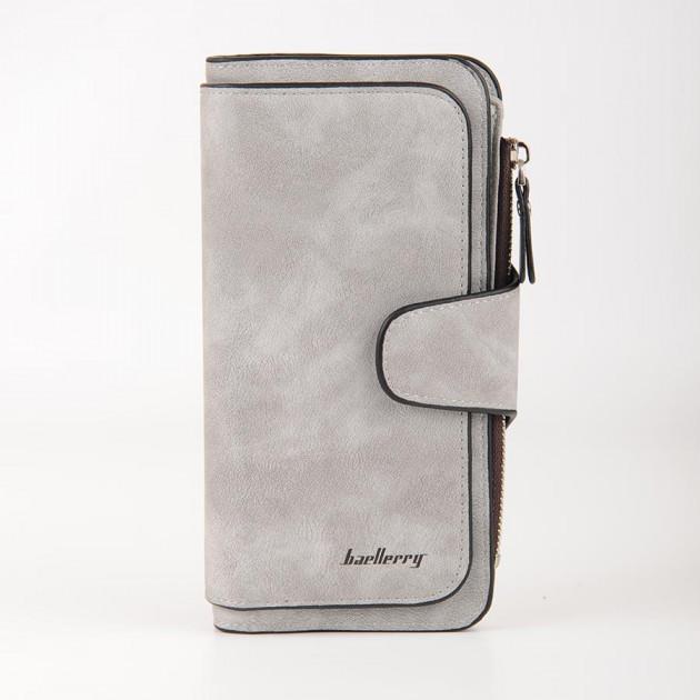 Кошелек Baellerry Forever N2345 серый GREY, портмоне цвет серый