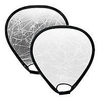 Отражатель треугольный Mircopro TR-052 silver-white 80 см (TR-052_80)