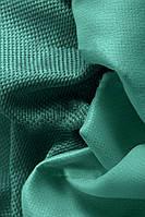 Ткань блэкаут  лен  темный  бирюзовый, фото 1