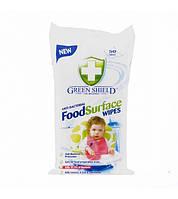 Влажные салфетки антибактериальные Green Shield  50 шт.