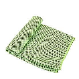 Охлаждающее полотенце Cool Towel зеленое в бутылке
