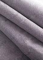 Ткань блэкаут  лен   светлый  лиловый