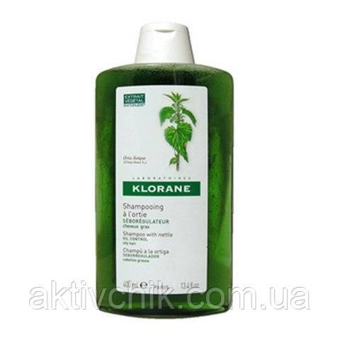 Клоран Шампунь с экстрактом Крапивы Klorane Shampoo with nettle 400 мл