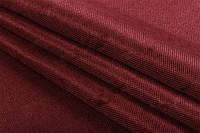 Ткань блэкаут  лен   бордовый