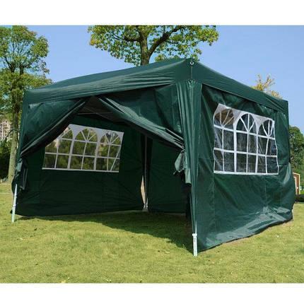 Садовая палатка  3м. х 3м. (Зеленый), фото 2