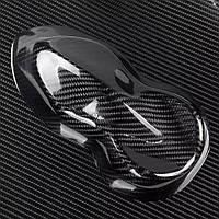 Пленка Карбон 5D черная под лаком, ширина рулона 1,52 м., фото 1