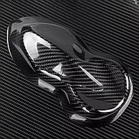 Пленка Карбон 5D черная под лаком, 40 х 152 см