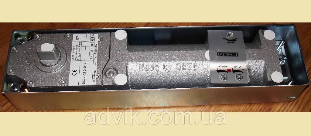 Доводчик напольный Geze TS 550 NV (в комплекте с крышкой)*