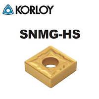 KORLOY SNMG120408-HS PC8110 пластина твердосплавная