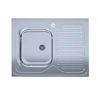 Мойка кухонная нержавейка UA 60*80-L Decor 0,4мм (Aisi 201) левая