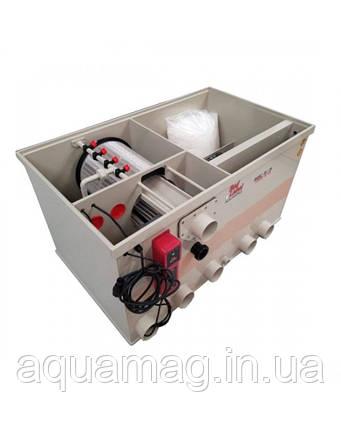 AquaKing Red Label Combi Drum 20/25 Basic Model 2 комбинированный барабанный фильтр для пруда, водоема, УЗВ, фото 2