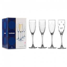 Набор бокалов для шампанского Luminarc Lounge Club 170 мл*4 шт N5286