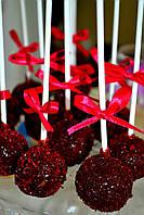 Candy Bar Кейк попс  в стиле марсала