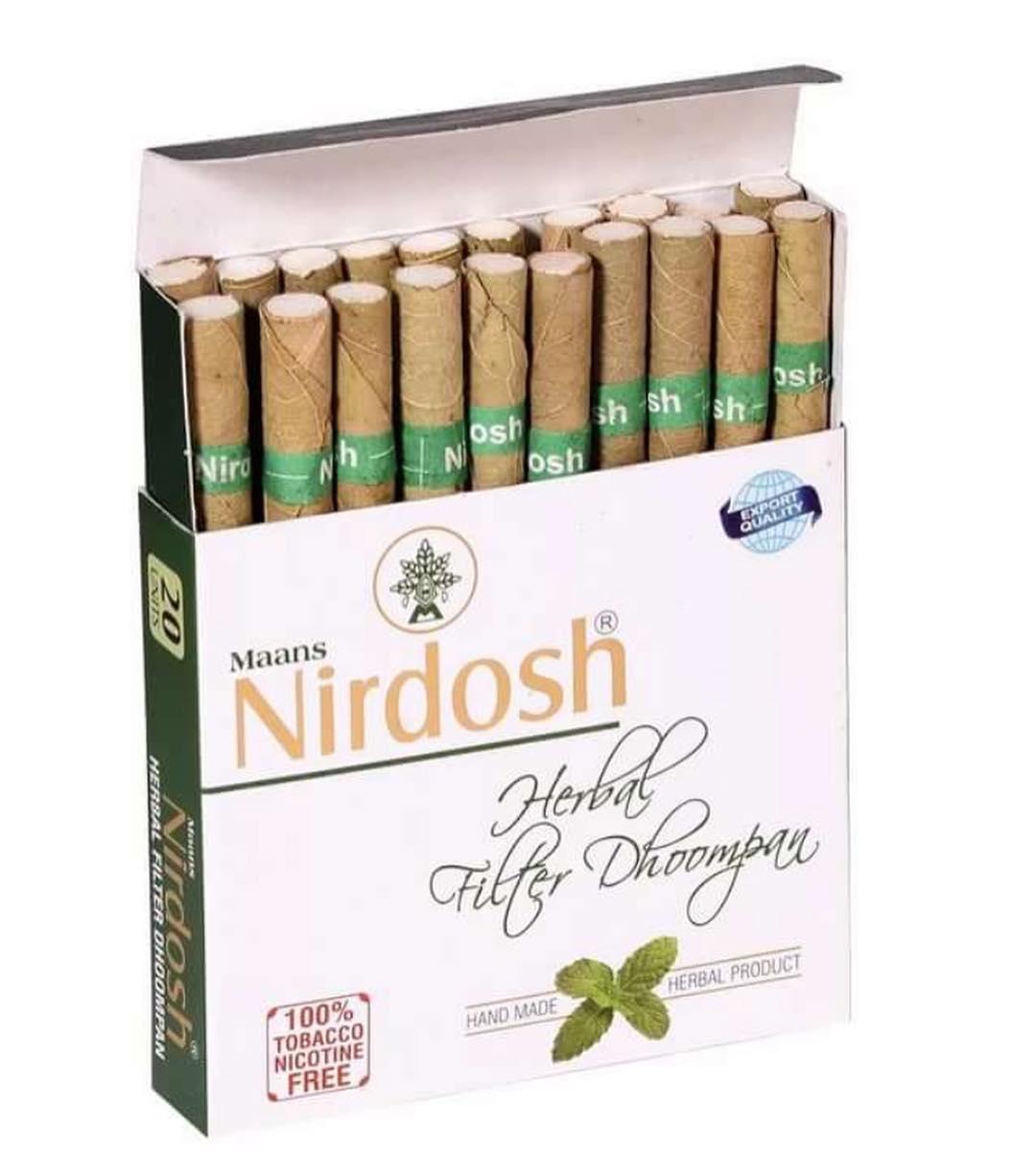 Нирдош, Nirdosh, очищает бронхи и легкие, успокаивает ум, 20шт