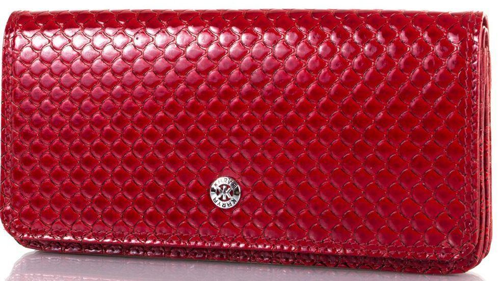 Женский кошелек из кожи KARYA SHI0939-122, красный