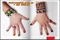 Плетем прикольные браслеты, фенечки из резинок Rainbow Loom