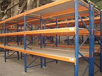 Стеллажи палетные для хранения продукции в складе