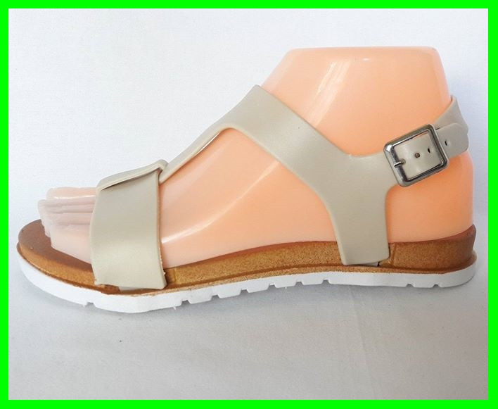 Жіночі Сандалі Босоніжки FASHION Літнє Взуття Beige ( 36р )