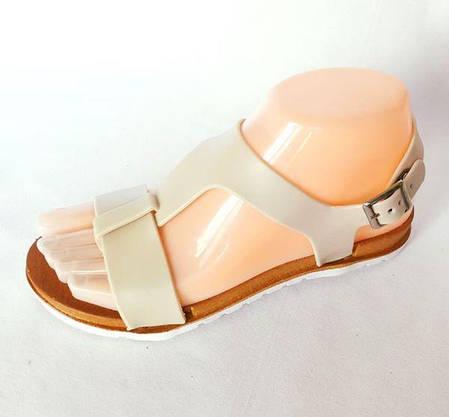 Жіночі Сандалі Босоніжки FASHION Літнє Взуття Beige ( 36р ), фото 2