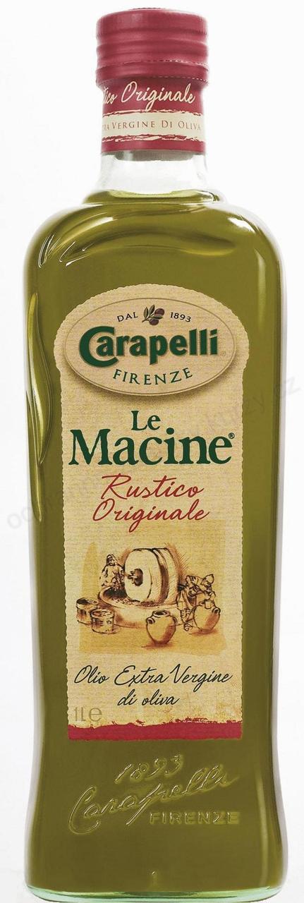 Оливковое масло нефильтрованное Le Macine Carapelli Rustico Originale 1 л.