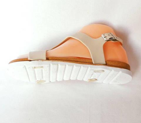 Жіночі Сандалі Босоніжки FASHION Літнє Взуття Beige ( 36р ), фото 3