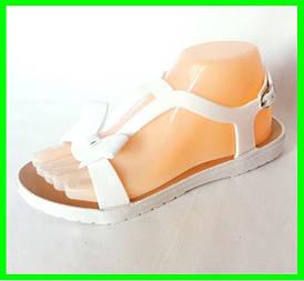 Жіночі Сандалі Босоніжки J. B. P. Літнє Взуття Білі (розміри: 40)
